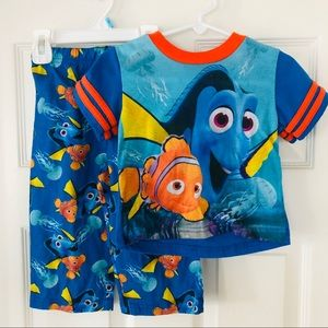 Finding Dory two piece pajama set
